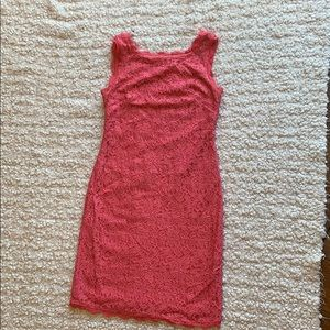 Adrianna Papell Coral Dress Size 2